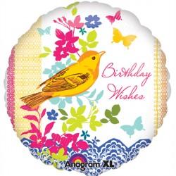 BIRTHDAY BIRD STANDARD S40 PKT
