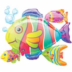 TROPICAL FISH CLUSTER SHAPE P40 PKT