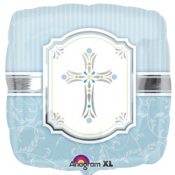 COMMUNION BLESSINGS BLUE STANDARD S40 PKT