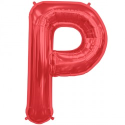 "RED LETTER P SHAPE 34"" PKT"