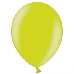 "APPLE GREEN 12"" METALLIC BELBAL (100CT)"