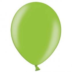 "LIME GREEN 12"" METALLIC BELBAL (100CT)"