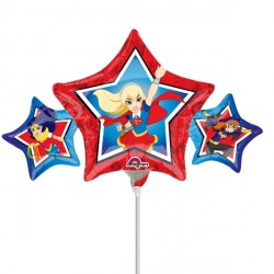 SUPER HERO GIRLS GROUP MINI SHAPE A30 FLAT