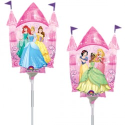 DISNEY PRINCESS CASTLE MINI SHAPE A30 FLAT