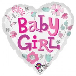 BABY GIRL HEARTS STANDARD S40 PKT