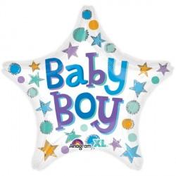 BABY BOY STAR STANDARD S40 PKT