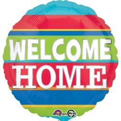 WELCOME HOME COLOURFUL STRIPES STANDARD S40 PKT