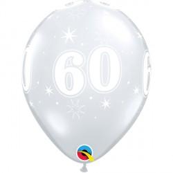 "60 SPARKLE-A-ROUND 11"" DIAMOND CLEAR (25CT)"