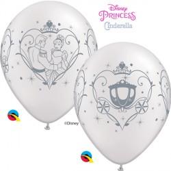 "CINDERELLA & PRINCE CHARMING 11"" PEARL WHITE (25CT)"