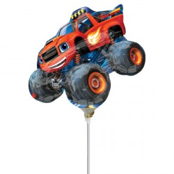 BLAZE & THE MONSTER MACHINES MINI SHAPE A30 INFLATED WITH STICK & CUP