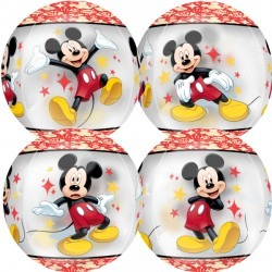 MICKEY MOUSE STARS CLEAR ORBZ G40 PKT
