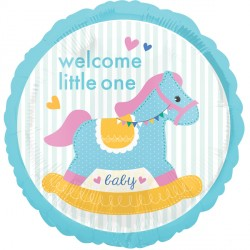 ROCKING HORSE WELCOME LITTLE ONE STANDARD S40 PKT