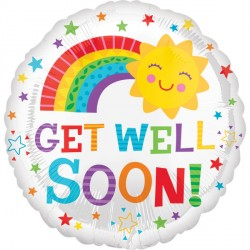 GET WELL HAPPY SUN STANDARD S40 PKT