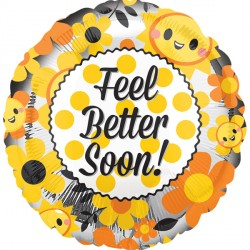 FEEL BETTER HAPPY FACES STANDARD S40 PKT