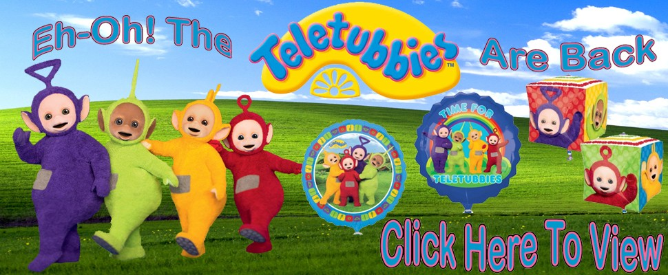 New Teletubbies Balloons Available To Pre Order