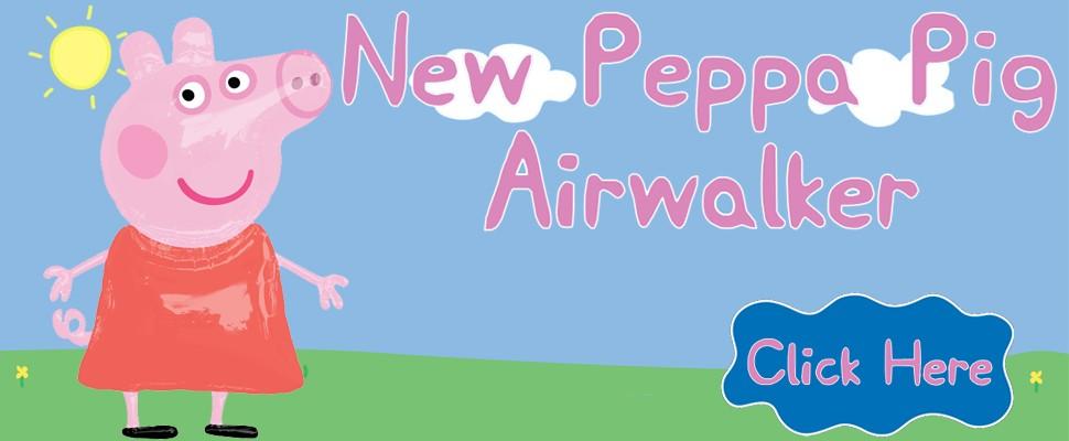 New Peppa Pig Airwalker