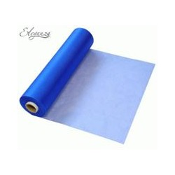 ROYAL BLUE ORGANZA 29CMX25M