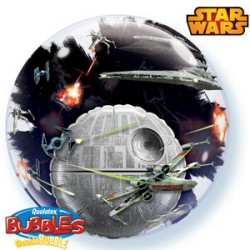 "STAR WARS DEATH STAR 24"" DOUBLE BUBBLE"