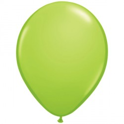 "LIME GREEN 11"" FASHION (100CT)"