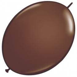 "CHOCOLATE BROWN 6"" FASHION QUICK LINK (50CT)"