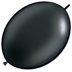 "ONYX BLACK 12"" PEARL QUICK LINK (50CT)"