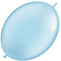"LIGHT BLUE 12"" PEARL QUICK LINK (50CT)"