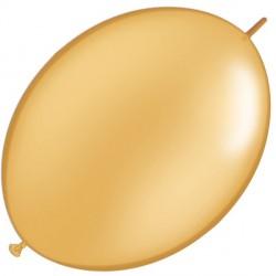 "GOLD 6"" METALLIC QUICK LINK (50CT)"