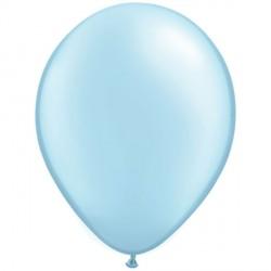 "LIGHT BLUE 11"" PEARL (100CT) QT"