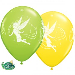 "TINKER BELL 11"" LIME GREEN & YELLOW (25CT)"