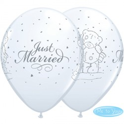 "ME TO YOU TATTY TEDDY JUST MARRIED 11"" WHITE (25CT)"