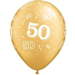 """50-A-ROUND 11"""" GOLD (25CT)"""