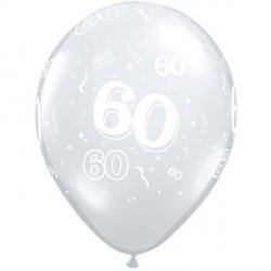 "60-A-ROUND 11"" DIAMOND CLEAR (50CT)"