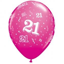 """21-A-ROUND 11"""" WILD BERRY (6X6CT)"""