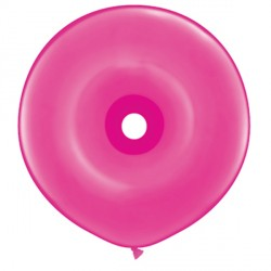 "WILD BERRY GEO DONUT 16"" FASHION (25CT)"