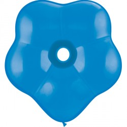 "DARK BLUE GEO BLOSSOM 6"" STANDARD (50CT)"