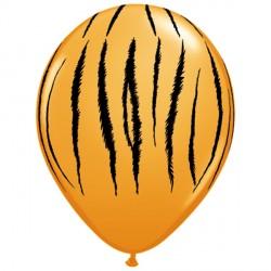 "TIGER STRIPES 11"" ORANGE (25CT)"