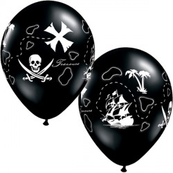 "PIRATE'S TREASURE MAP 11"" ONYX BLACK (50CT)"