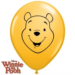 "POOH FACE 5"" GOLDENROD (100CT)"