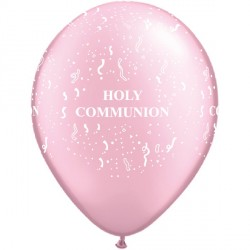 "COMMUNION-A-ROUND 11"" PEARL PINK (50CT)"
