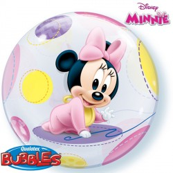 """MINNIE MOUSE BABY 22"""" SINGLE BUBBLE"""