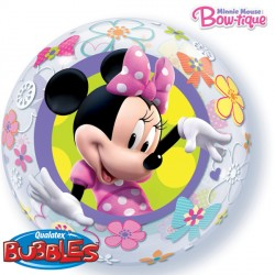 "MINNIE MOUSE BOW-TIQUE 22"" SINGLE BUBBLE"
