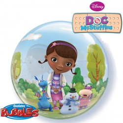 "DOC McSTUFFINS 22"" SINGLE BUBBLE"