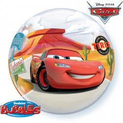 "CARS LIGHTNING McQUEEN & MATER 22"" SINGLE BUBBLE"