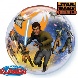 "STAR WARS REBELS 22"" SINGLE BUBBLE"