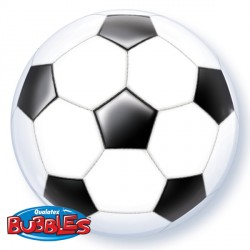 "SOCCER BALL 22"" SINGLE BUBBLE"