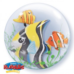 "SEAWEED TROPICAL FISH 24"" DOUBLE BUBBLE YUY"