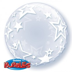 "STYLISH STARS 24"" DECO BUBBLE"