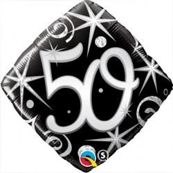 "50 ELEGANT SPARKLES & SWIRLS 18"" PKT"