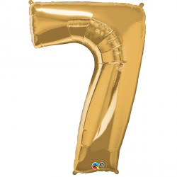 GOLD NUMBER 7 SHAPE GROUP D