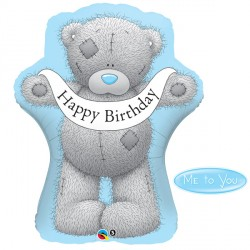 "ME TO YOU TATTY TEDDY BIRTHDAY BANNER 36"" SHAPE GROUP C PKT"